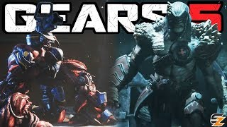 Gears of War 5 New Enemies - The Warden Swarm Scion, Corrupted DeeBees & Heart Leeches!