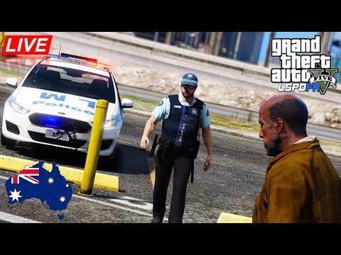 GTA 5 - LSPDFR Australia LIVE - NSW Ford General Duties Patrol