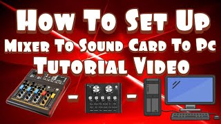 V8 Sound Card To Pc And Audio …