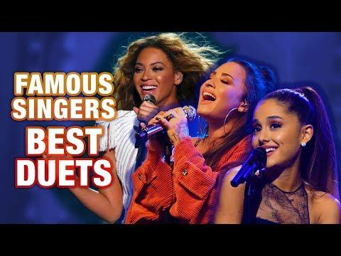 FAMOUS SINGERS BEST VOCAL DUETS!