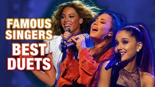 FAMOUS SINGERS BEST VOCAL DUETS!