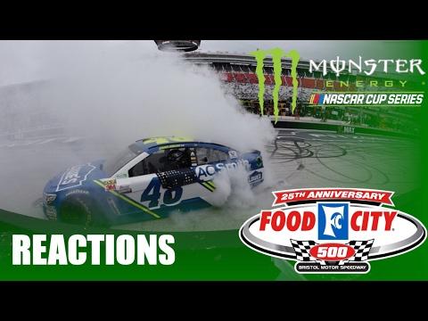 2017 MENCS Food City 500 Reactions