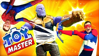 Видео игры - Супергерои против Таноса! - Сила Человека Паука у Той Мастера?