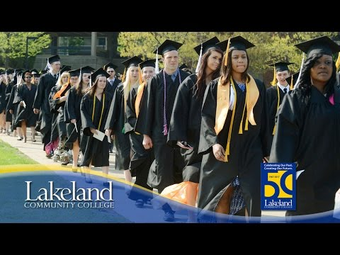 The 50th Annual Commencement Ceremony at Lakeland Community College