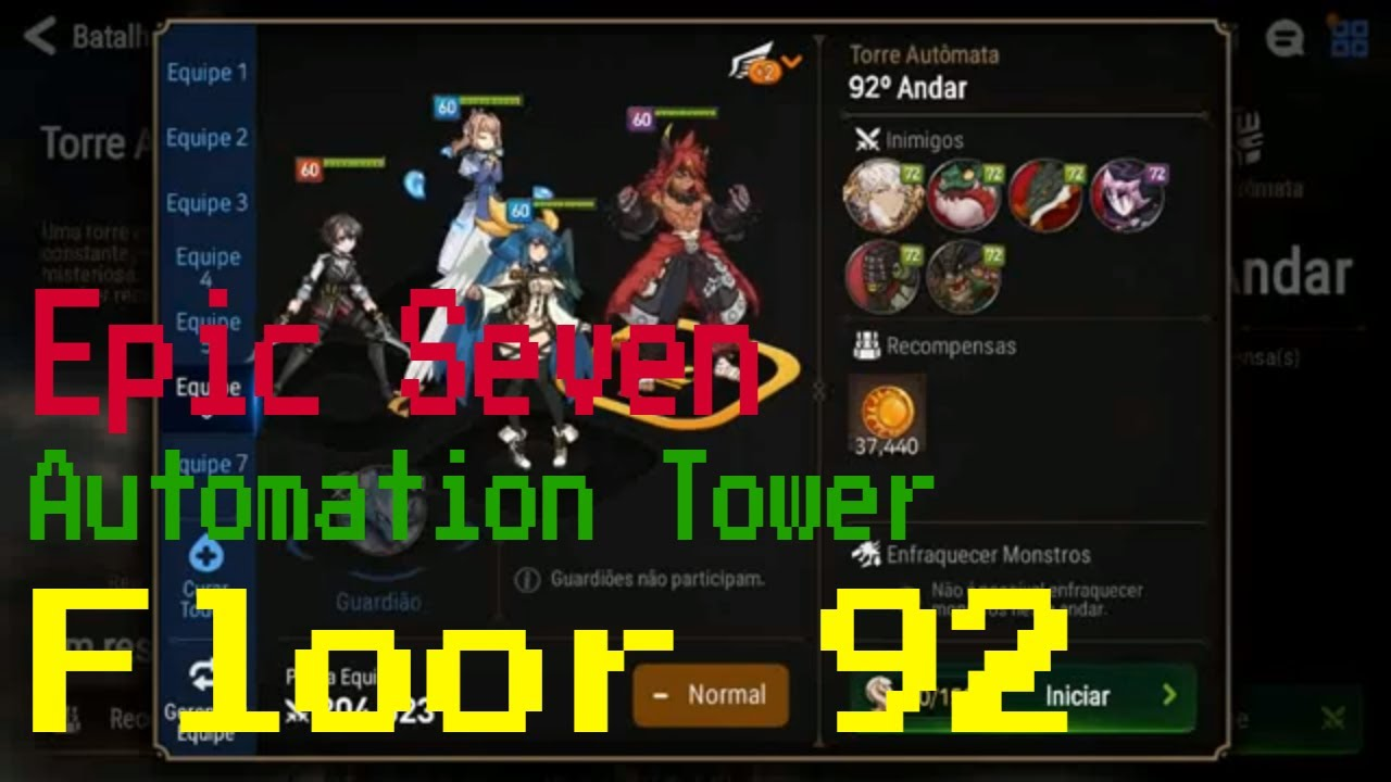 [Epic Seven] Automation Tower - Floor 92