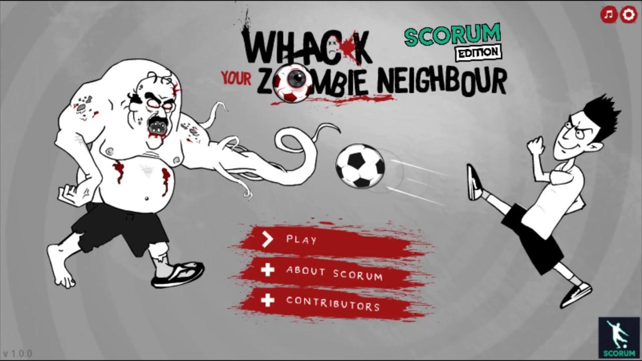 Whack Your Zombie Neighbour Game Walkthrough Youtube