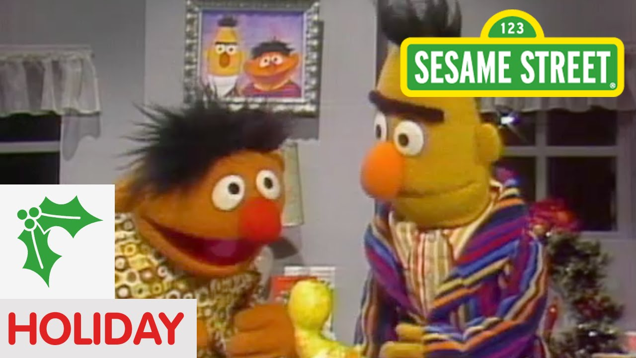 Sesame Street Bert And Ernie Exchange Gifts Doovi