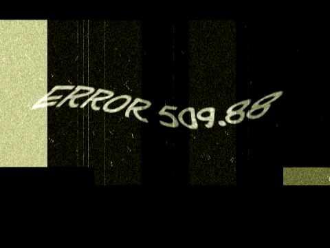 Ошибка:509