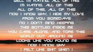 Nickelback Woke Up This Morning (Cap Lyrics)