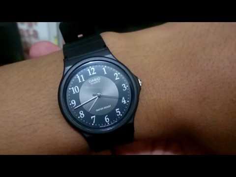 70ce3d9872ce Unboxing Jam Tangan Casio MQ-24-1B3LDF  BOKER