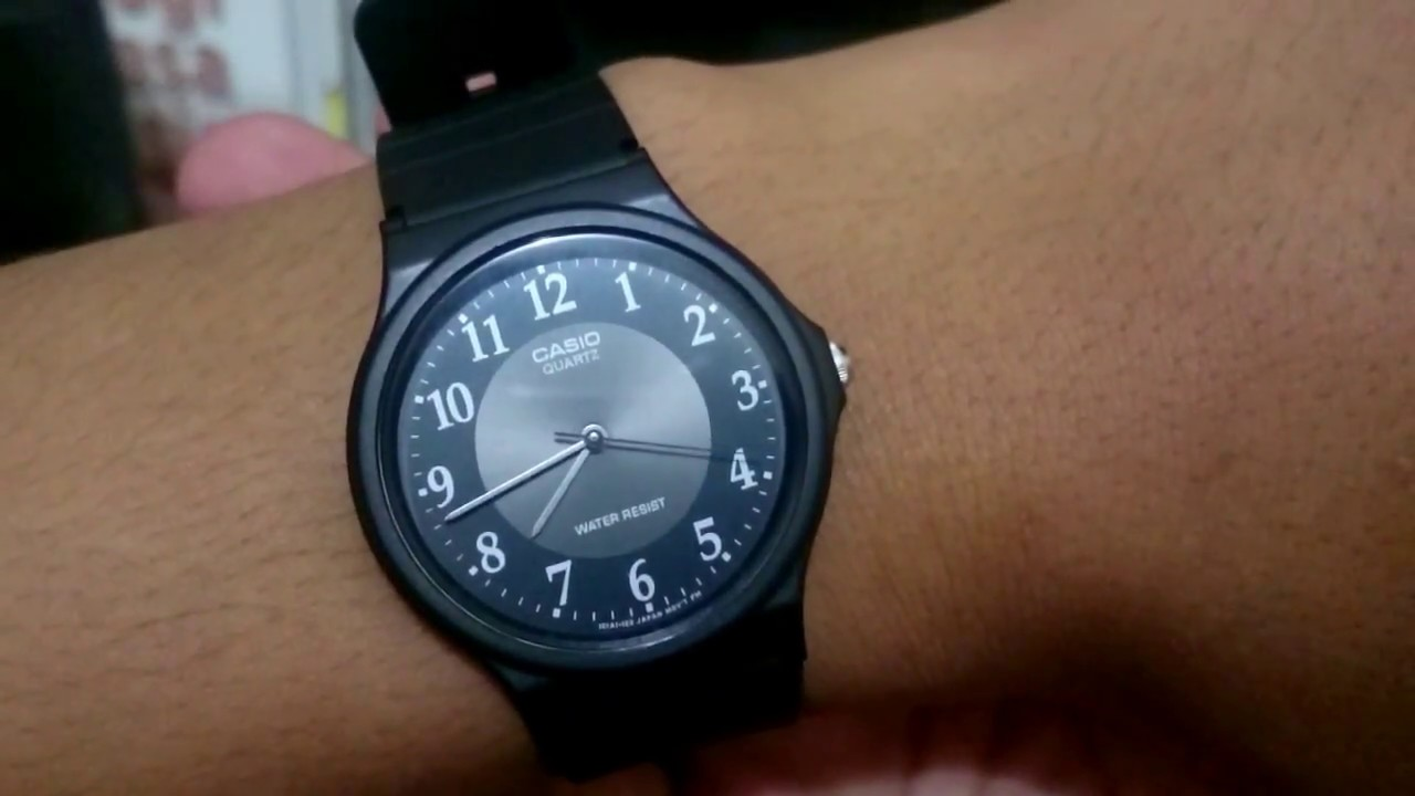 Unboxing Jam Tangan Casio MQ-24-1B3LDF  BOKER - YouTube 68b1e037bb