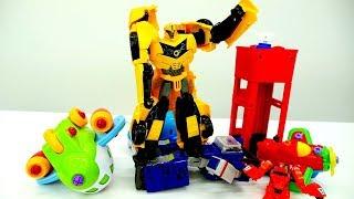 Видео игры #Трансформеры 👊 БАМБЛБИ ищет пропавшие самолёты ✈! #Автоботы игрушки для мальчиков