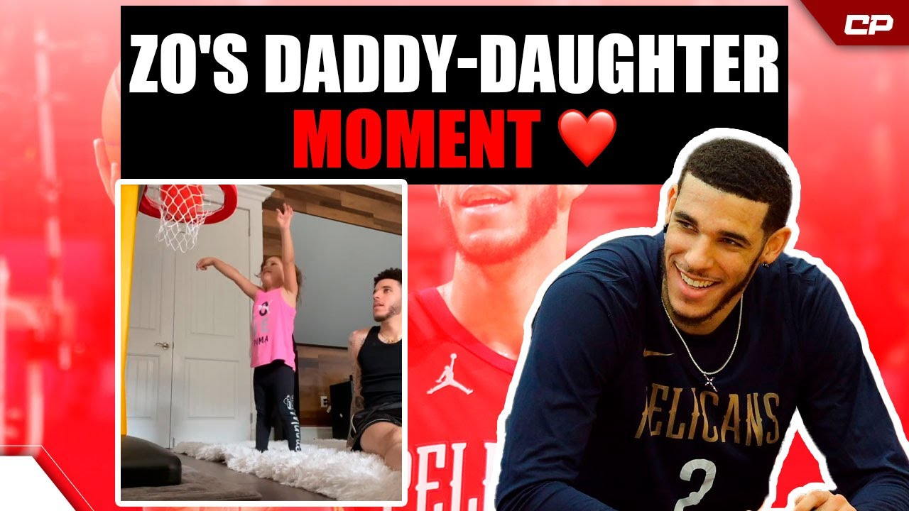 Lonzo Ball'S HEART-WARMING Moment With Daughter❤️| Highlight #Shorts