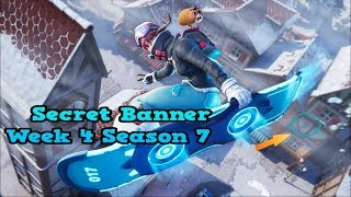Secret Banner Week 4 Season 7-Fortnite (hidden banner Season 7 Week 4)