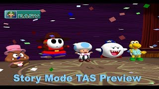 Mario Party 4 - Story Mode [TAS Preview]