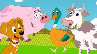 Animal Sounds Songs - The Sounds of the Animals, Numbers Songs, ABC Phonics Songs & more