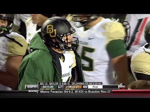 Baylor Bears vs Oklahoma State Cowboys  11-23-2013