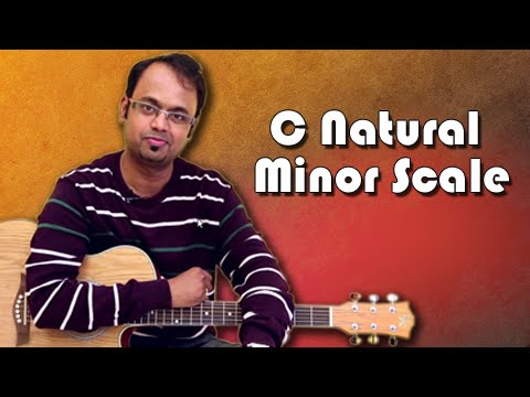 how-to-play---c-natural-minor-scale---guitar-lesson-for-beginners