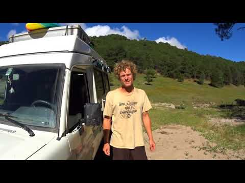 Copper Canyon Mexico off-road in our Toyota Land Cruiser 78 Camper 2017