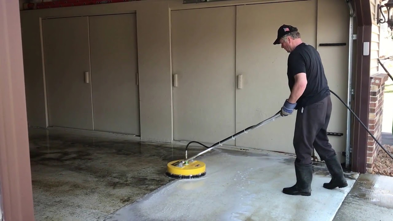 Garage Floor Cleaning Xtreme Clean