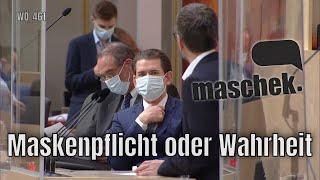 Maschek – Maskenpflicht oder Wahrheit