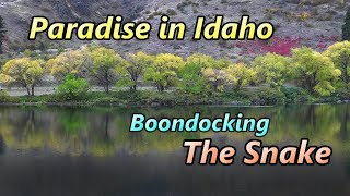 Paradise in Idaho: Boondocking the Snake