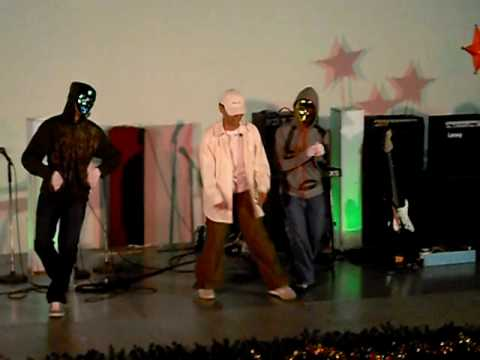 """Newday Center Level-Up Concerto   """"The JC CREW""""  rap and dance # (12-11-2009)"""