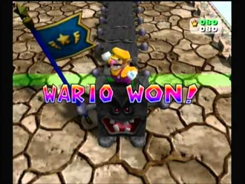 Mario Party 4: All Minigames: 4 Player