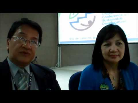 Interview with Ella Antonio and Cielito Habito