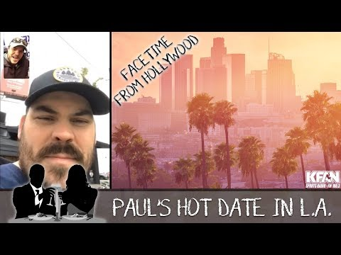 We just FaceTimed Sauce in Hollywood to give him dating tips!