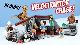 LEGO Jurassic Park Velociraptor Chase 25th anniversary Set