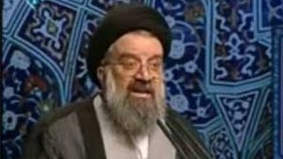 Ayatollah Ahmad Khatami attack reformist papers and criticize commission for press supervision