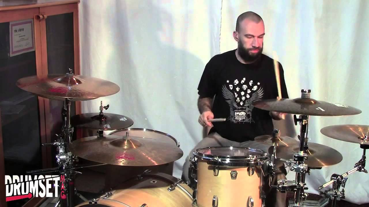 Korn Korn David Silveria Drum Grooves Youtube