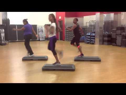 Cardio Step Class: Full-length 30min Dancey/ Intermediate Level
