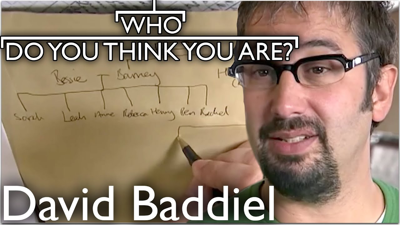 David Baddiel Uncovers Lost Relatives | Who Do You Think You Are