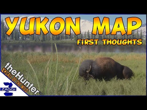 Yukon Map Reveal First Thoughts Call Of The Wild
