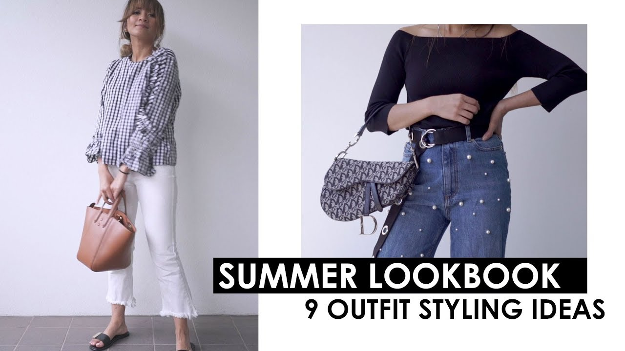 [VIDEO] - SUMMER LOOKBOOK | Outfit styling ideas 2