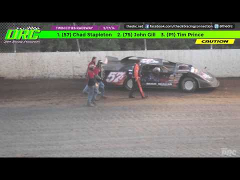 Twin Cities Raceway Park | 5.17.14 | Late Model Feature