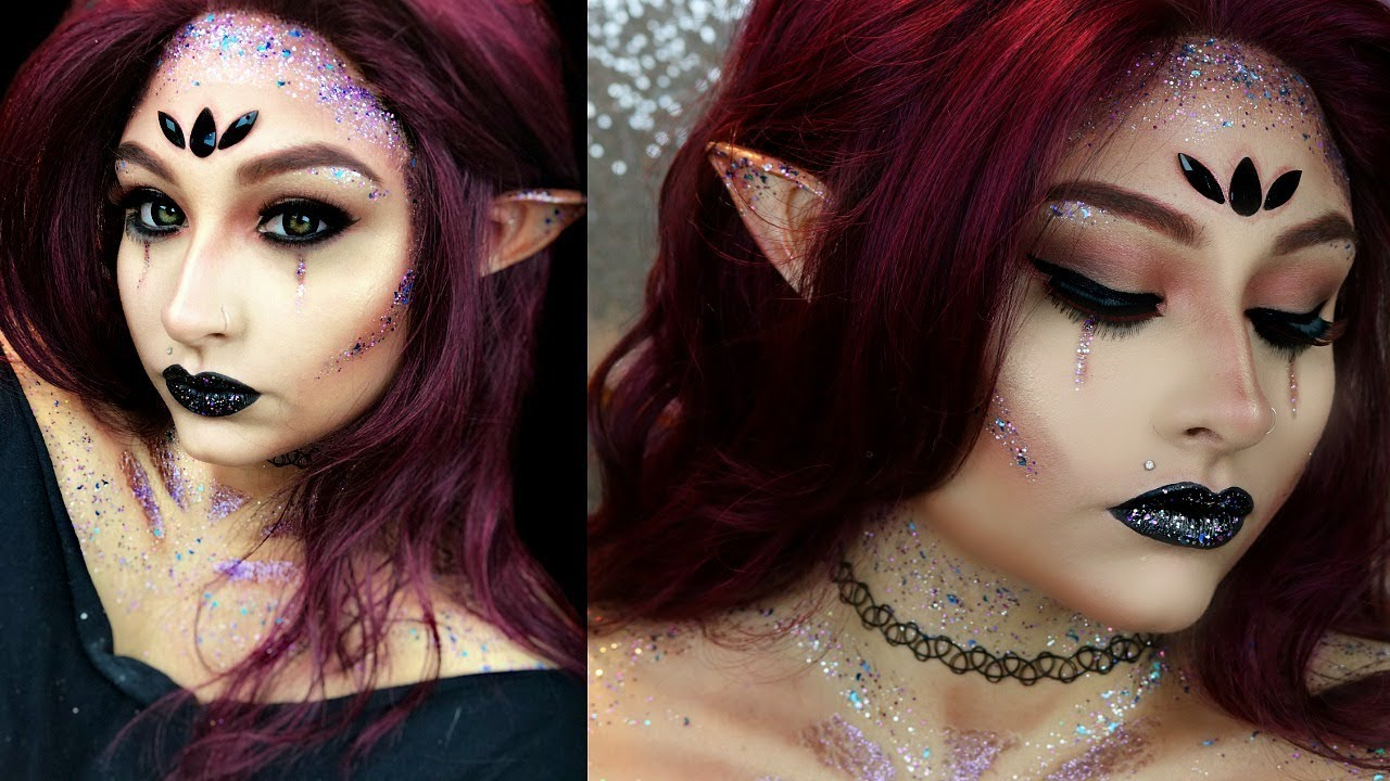 Dark Fairy Halloween Makeup Tutorial | Fairy Makeup Beautybyjosiek