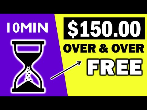 Earn $150 In 10 Minutes Over & Over For FREE (Passive Income 2021) Branson Tay