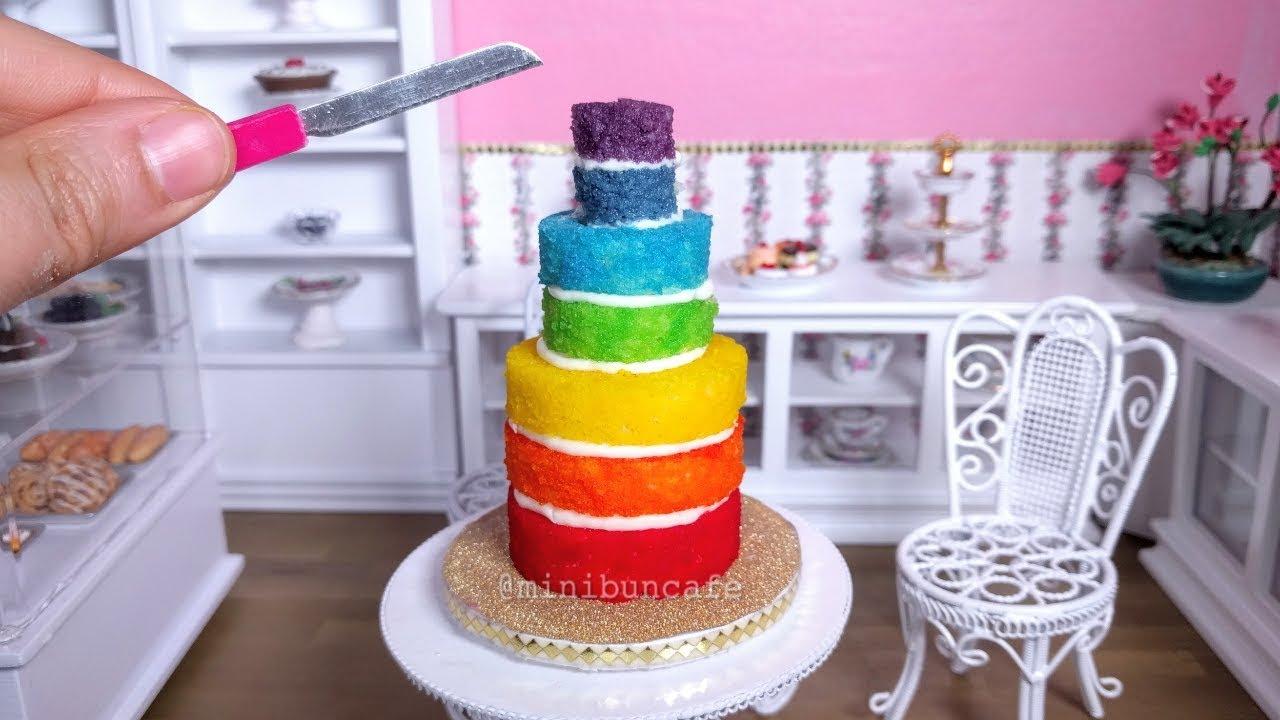 Download [FAST EDIT] Mini Rainbow cake!