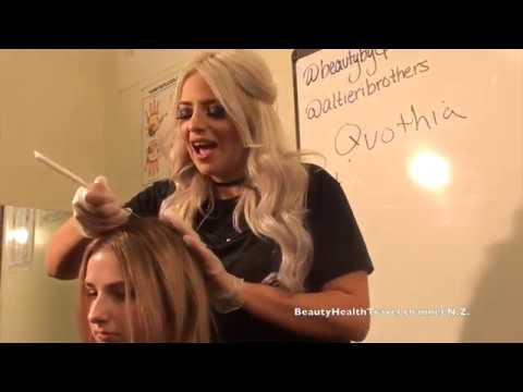 Haircolor: Balayage Highlighting class for beginners by Q Wolf