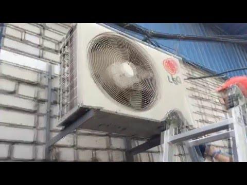Холодильная камера на базе наружного блока кондиционера.  Обзор Днепропетровск