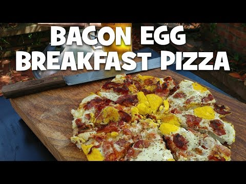 Bacon and Egg Breakfast Pizza thumbnail