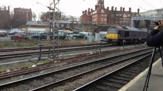 Preston 24hour Freights, Sleepers, Railtours 6th-7th March 2015