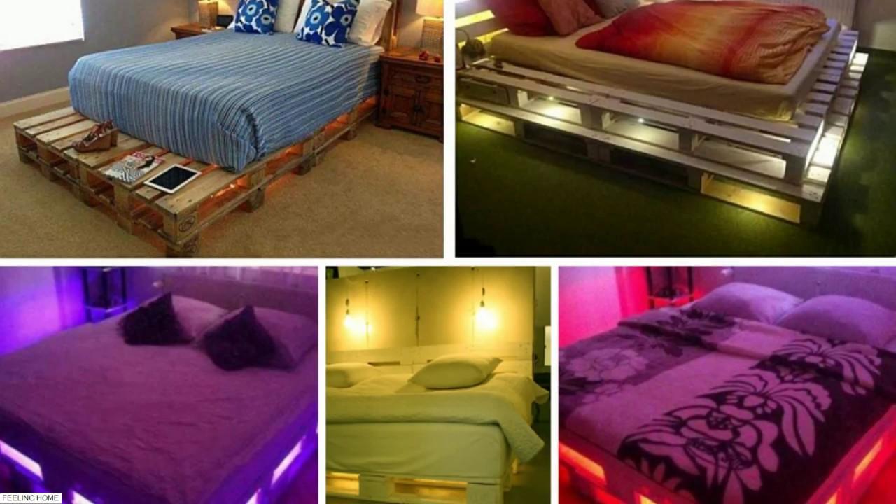 Top 40 Creative Diy Pallet Bed Ideas 2018 Amazing Bed Frame Desig