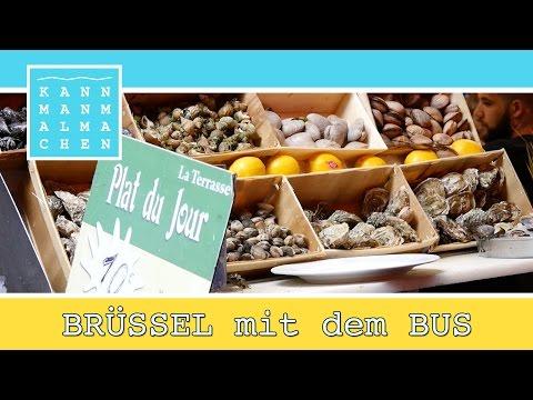 KANNMANMALMACHEN von Düsseldorf nach City of Brüssel / Brussels.