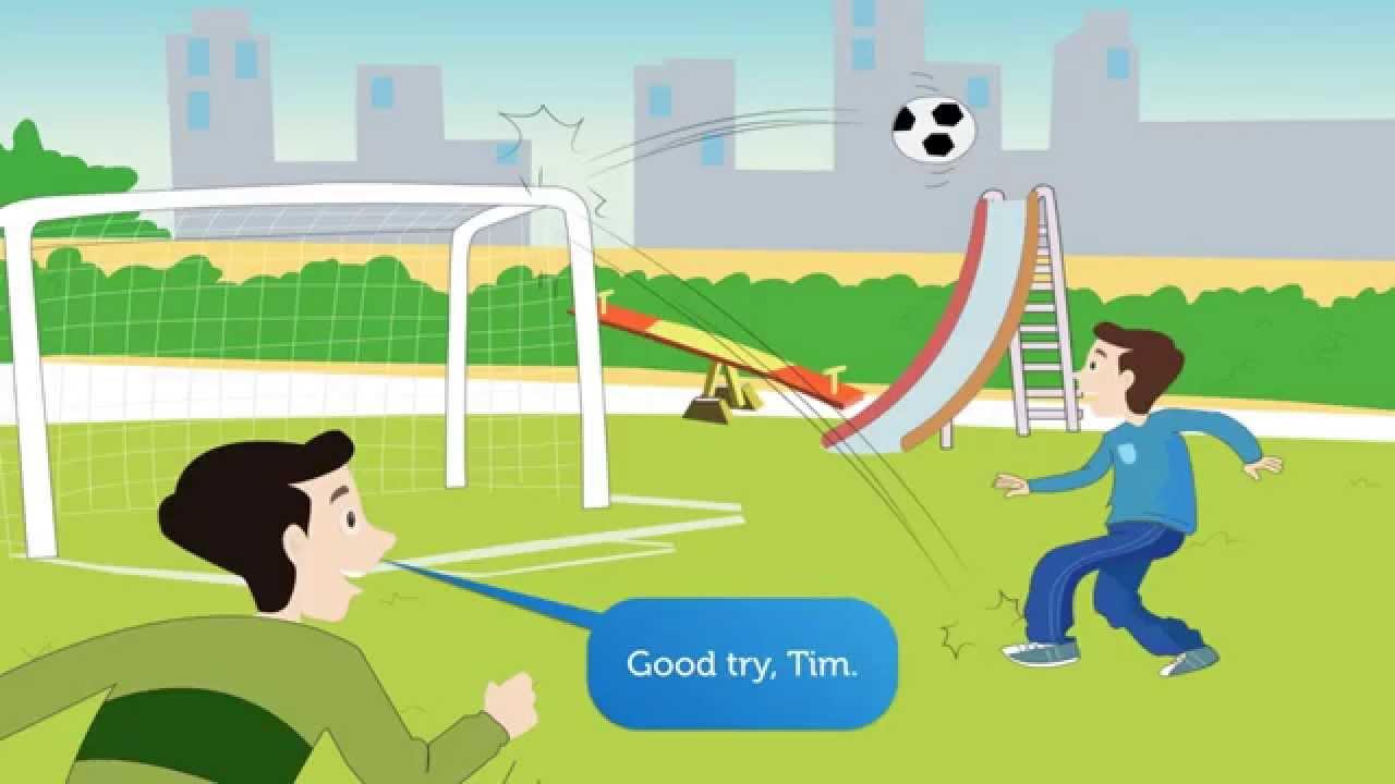 Tiếng Anh Trẻ Em lớp 1. Phần 5. Quả bóng ở đâu rồi?