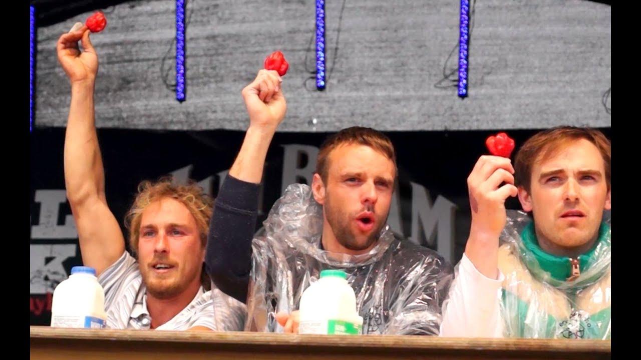 Chilli Eating Contest | Grillstock Festival | Sunday 12 ...