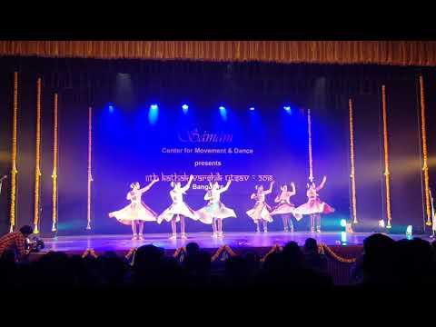 Khushi's performance on Pt Birju Maharaj's teams production